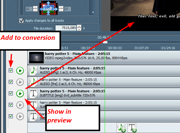 how to rip subtitles add to mkv